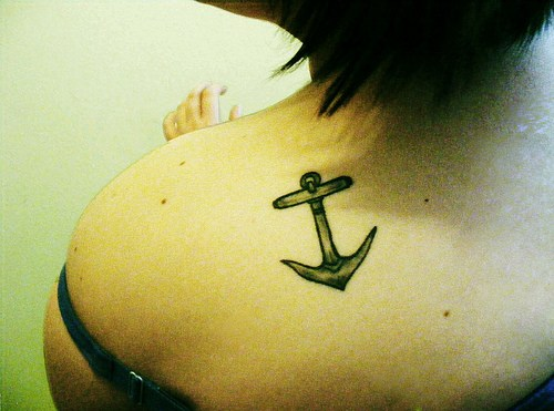 Anchor Black Tattoo