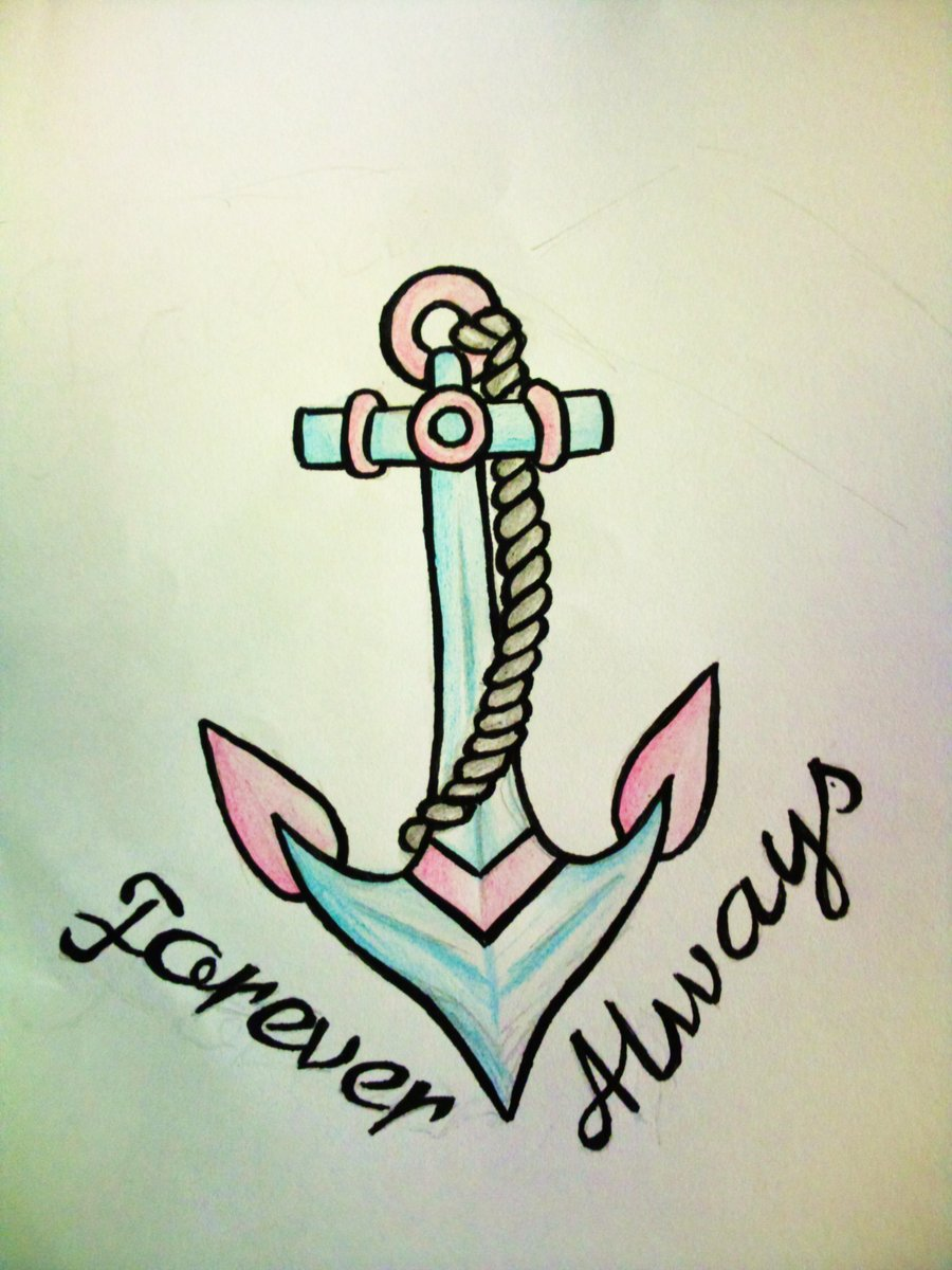 Anchor Tattoo Forever Always