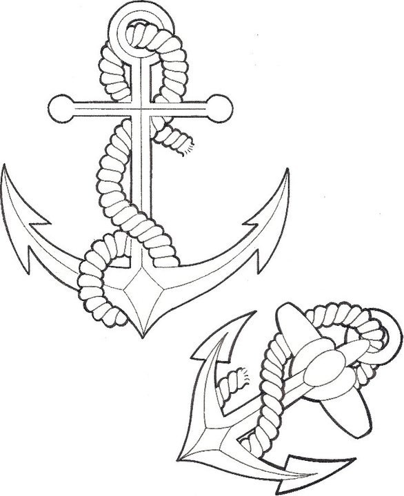 Anchor Tattoo Images