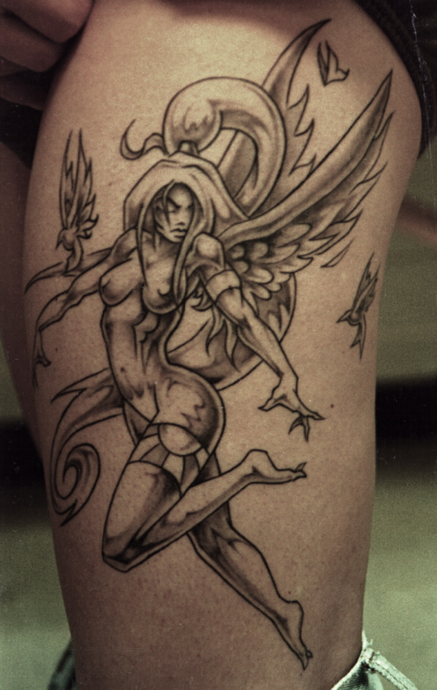 Angel Dancing Tattoo