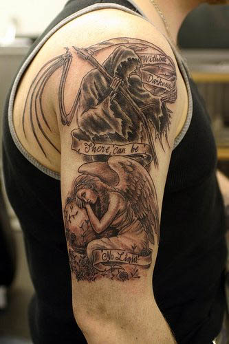 Angels Fredly Tattoo