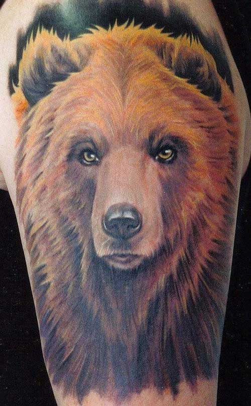 Animal Bear Tattoo
