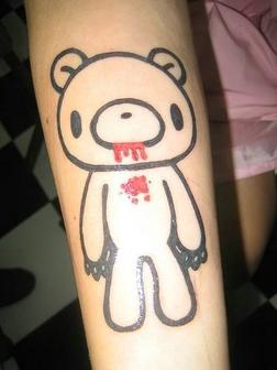 Bear With Blood ~ Bear Tattoo