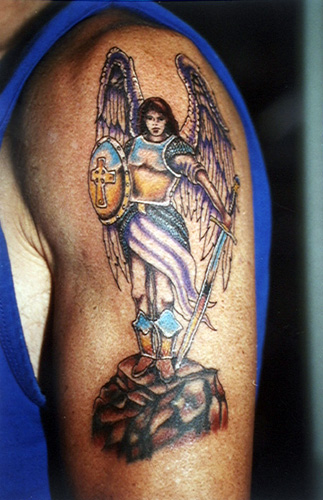 Beautiful Arms Angel Tattoo