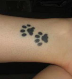 Cat Paws Tattoo Design