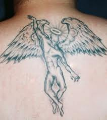 Dancing Angel Tattoo