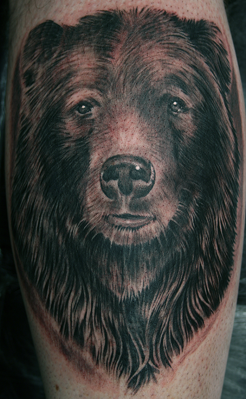 Grizzly Bear Tattoo By Tattoostime