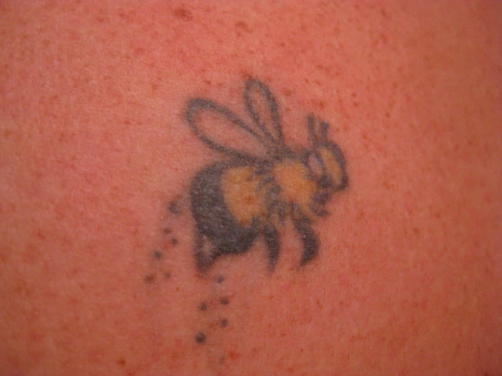 I Got A Bumblebee Tattoo