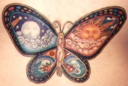 Latest Butterfly Tattoo Design