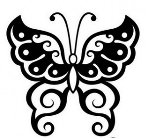 Latest Butterfly Tattoo Sample