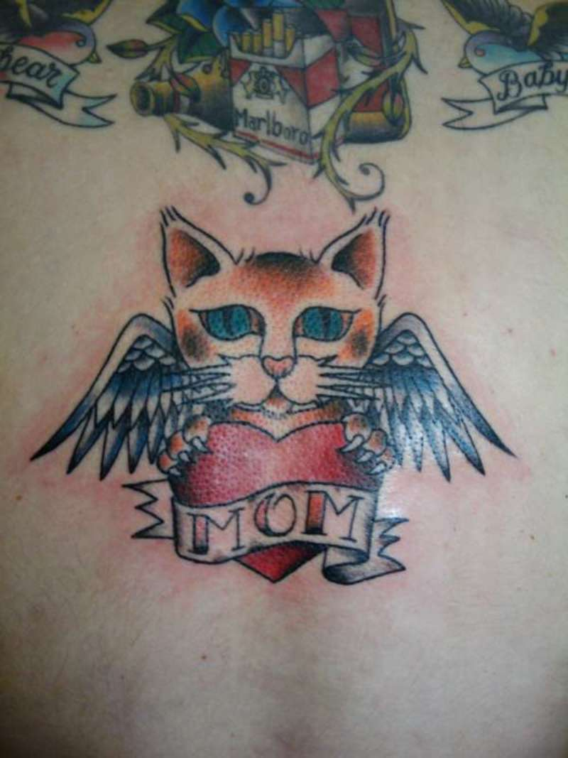 Memory Cat Tattoos Gallery