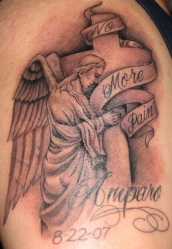 More Beautiful Angel Tattoo