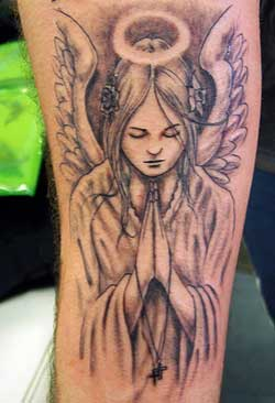 Praying Tattoos of Angels
