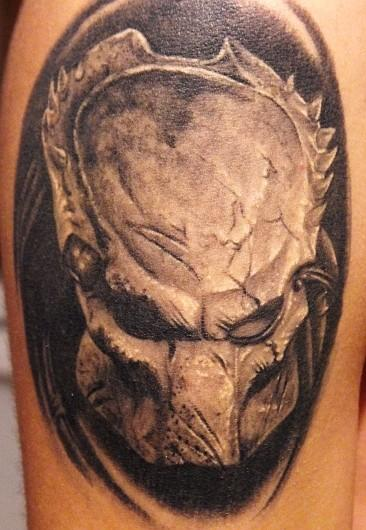 Predator Alien Tattoo