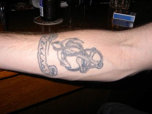 Rope Anchor Tattoo