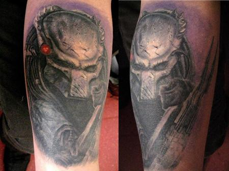 Mind Blowing Alien Tattoo