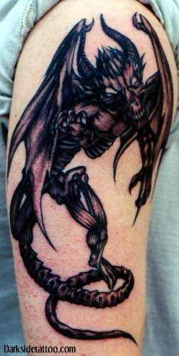 Stunning Alien Tattoo On Arm