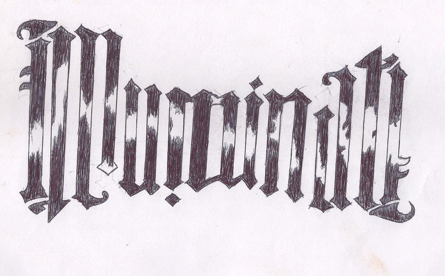 The Illuminati Ambigram Tattoo Design