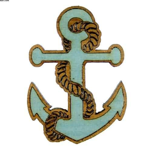 Rope Anchor Tattoo Design Picture