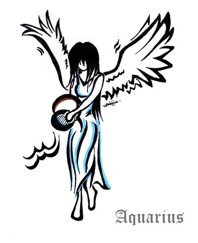 Aquarius Tattoos Designs And Ideas  Page 23