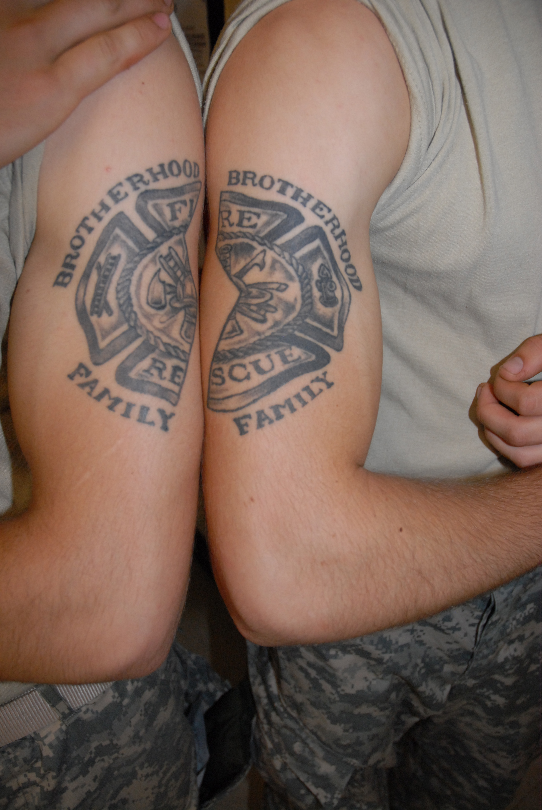 Firefighter tattoos designs and ideas - Displaying 14 Gt Images For Fighter Tattoo On Wrist