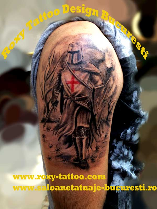 Army Medical Man Tattoo Design