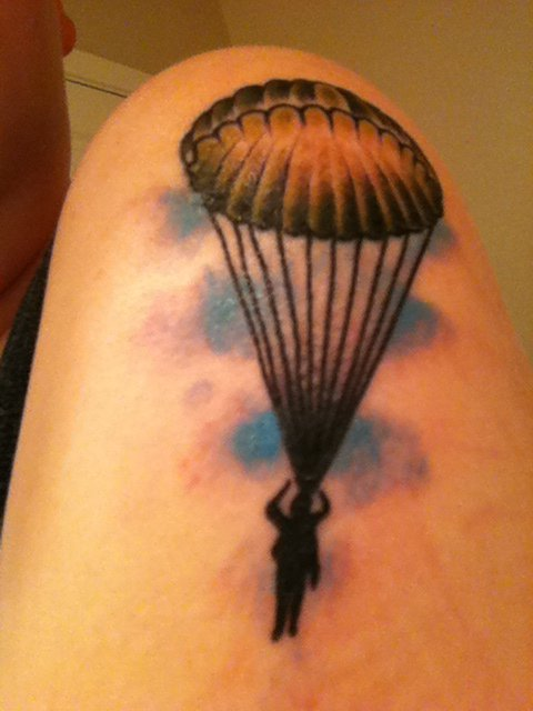Paratrooper Tattoos Designs Picture Picture