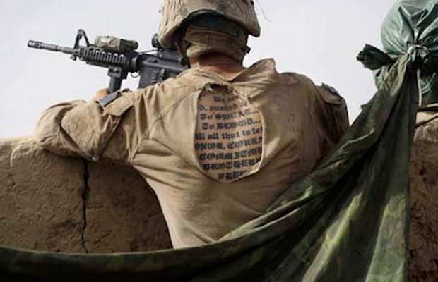 Army Tightens Rules Tattoo On Back
