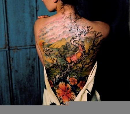 Asian Calligraphy Tattoo Design