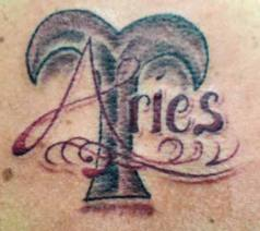Awesome Aries Tattoo Design