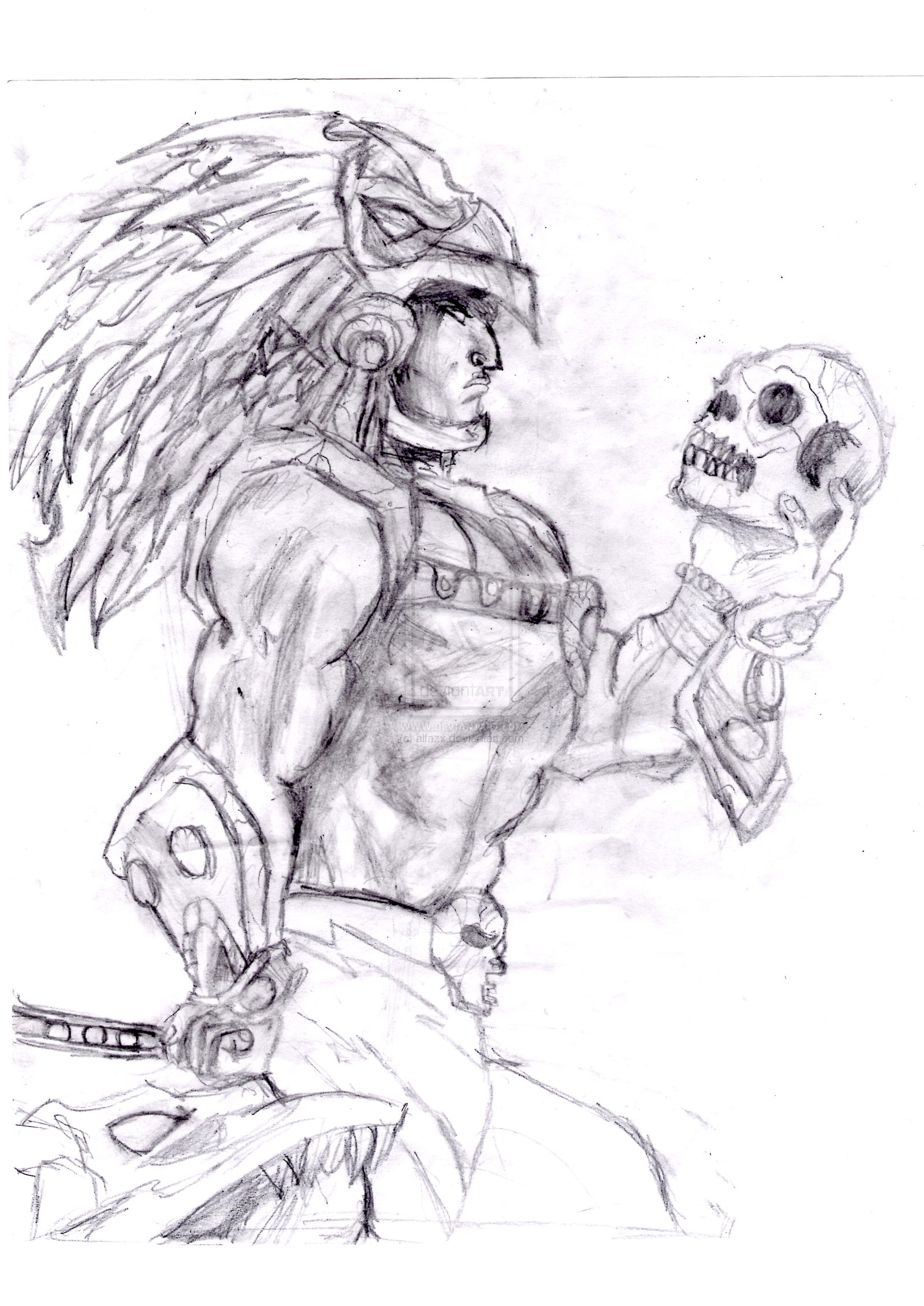 Aztec Warrior Drawing Images amp Pictures Becuo