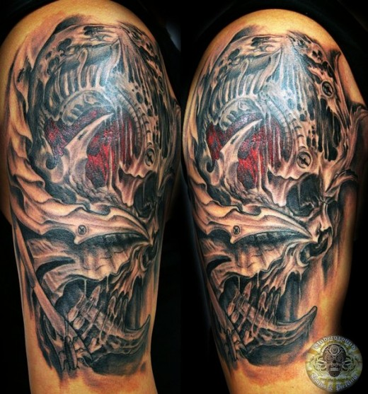 ... tattoo images under biomechanical tattoos html code for tattoo picture