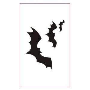 Black Bats Tattoo Design