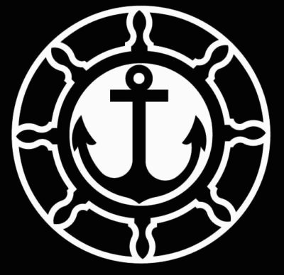 Boat Wheel & Anchor Tattoo