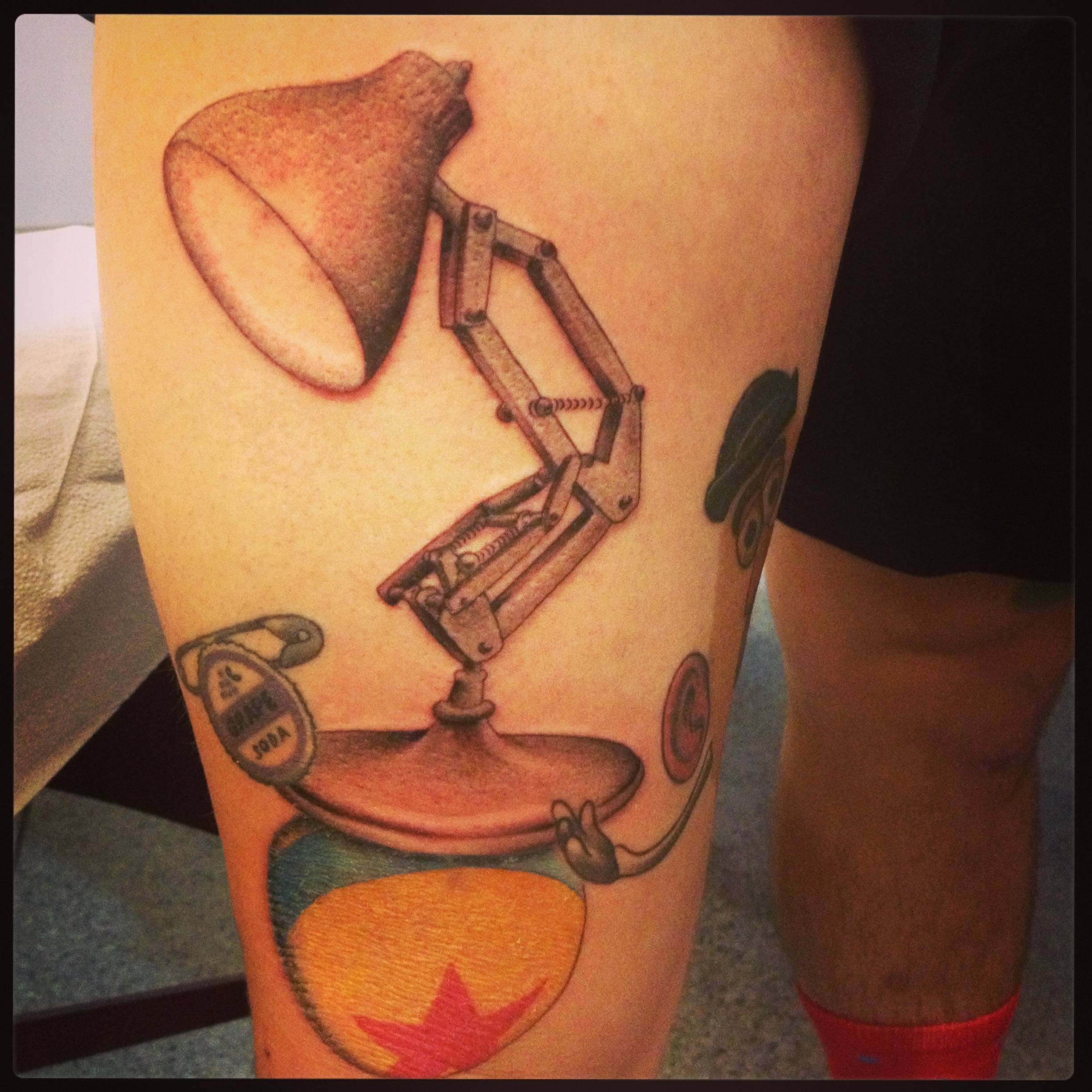 Bulb Lamp Tattoo