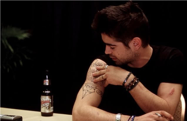 Colin Farrell Arm Tattoo
