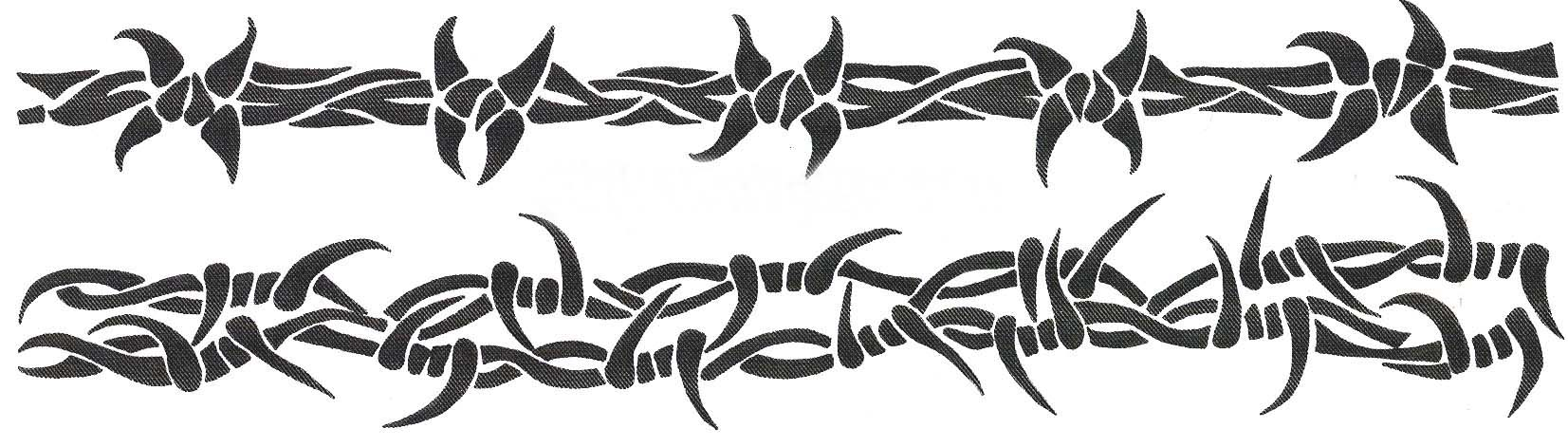 Barbed Wire Armband Tattoo Designs