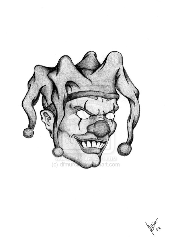 Clown Tattoos Designs And Ideas Page 77