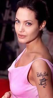 Angelina Jolie Celebrity Tattoo