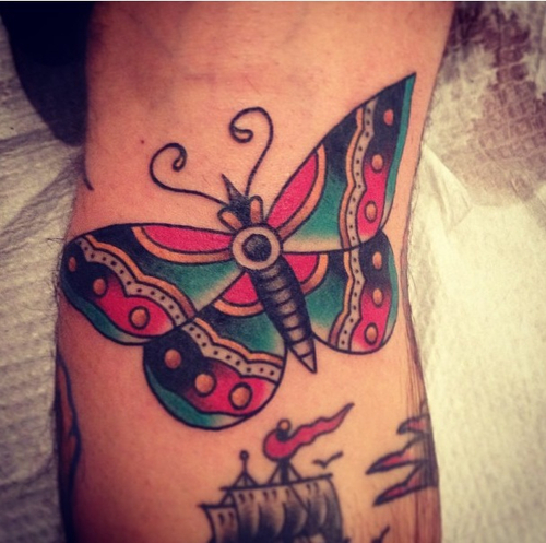Awesome Butterfly Tattoo