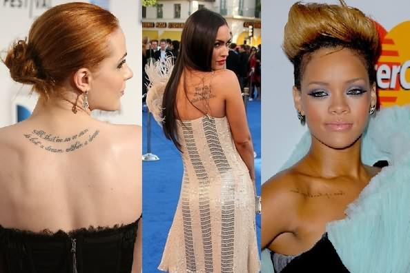 Awesome Celebrity Tattoo Designs