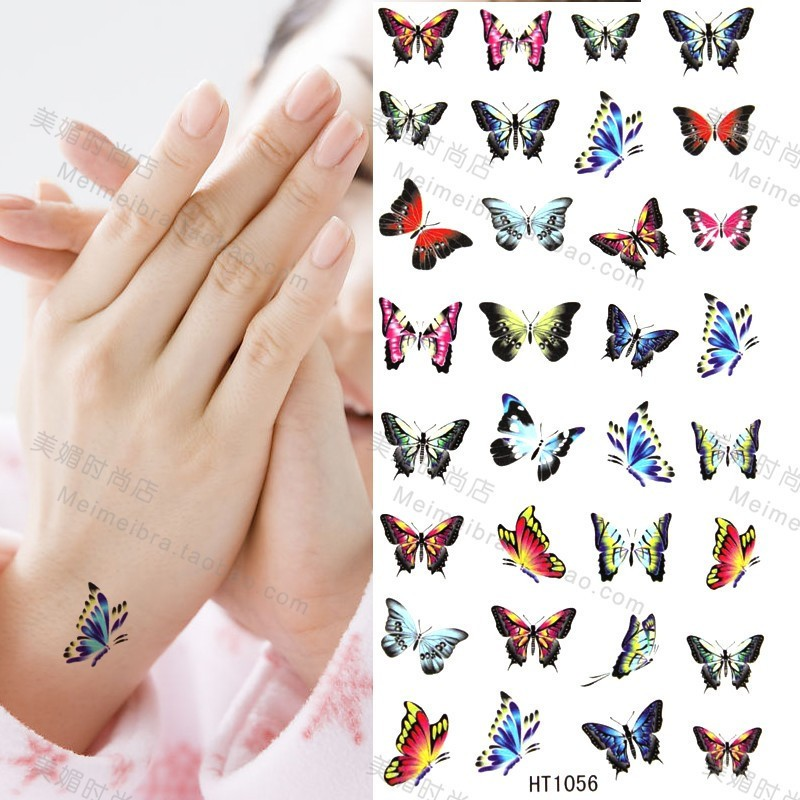 Small butterfly wrist tattoos paired cute wrist tattoos pictures to