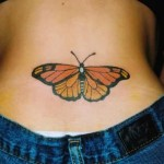 Butterfly Tattoo Fashion