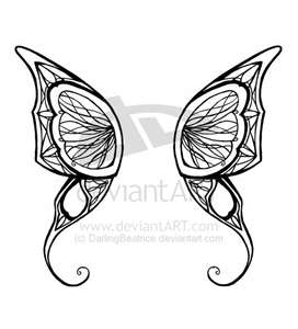 Butterfly Wings Tattoo Designs