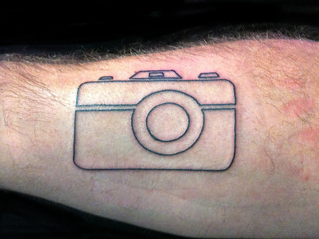 Camera Tattoos Designs And Ideas  Page 6