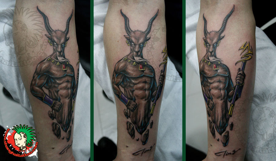 Capricorn Tattoo Image