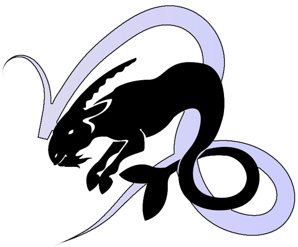 Capricorn Zodiac Symbol Tattoo Design