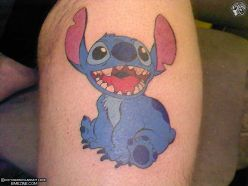Cartoon Character Tattoo