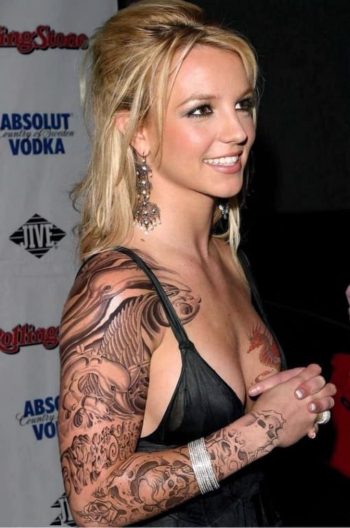 Celebrity Tattoo On Arm