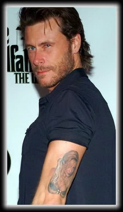 Celebrity Tattoo On Muscles